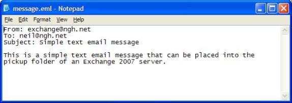 Exchange server 2003 transport server