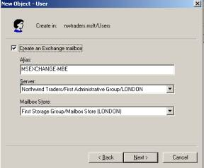 Как создать контакт в active directori?