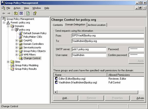 Отчет по active directory gpo