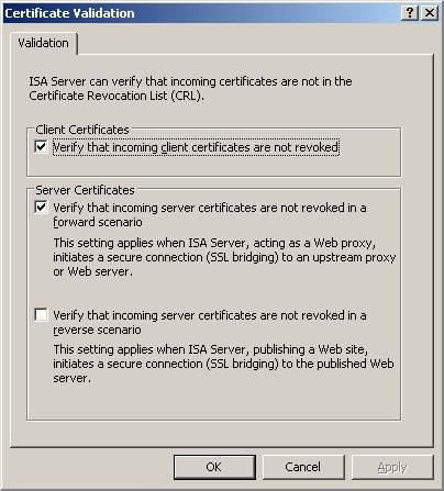 Как настроить isa server 2006?