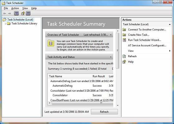 Запустить taskmanager