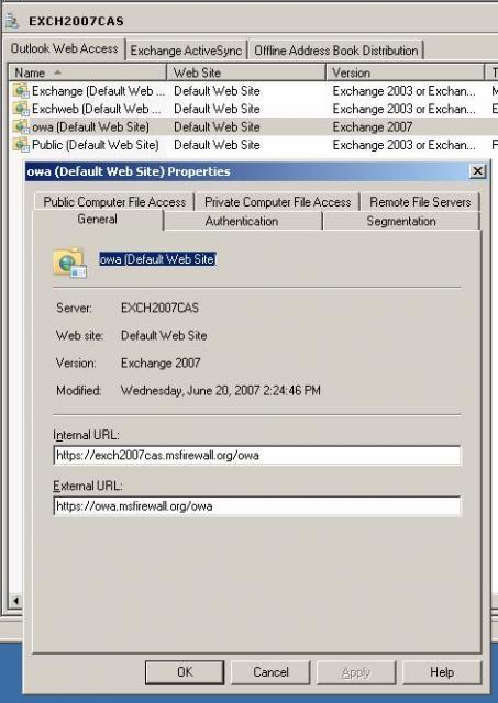 Exchange 2010 rpc через HTTP