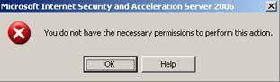 Isa server удаленное администрирование