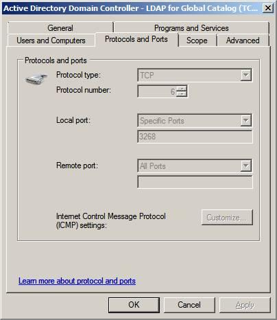 Файрвол server 2008