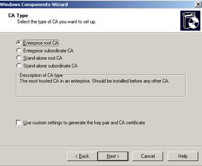 Isa 2006 проверка сертификата