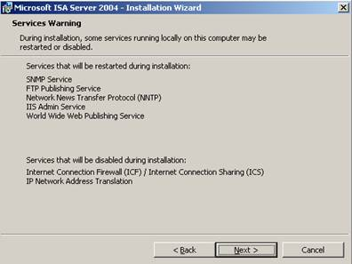 Isa 2004 enterprise edition