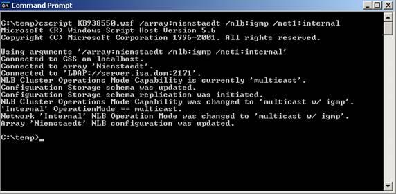 Nlb multicast unicast