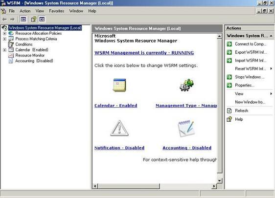Windows system resource manager elfkbnm