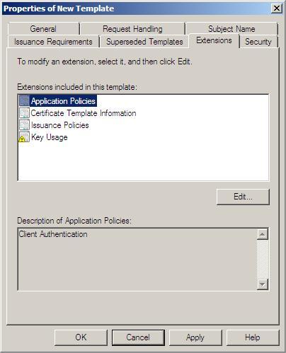 Windows 2008 IP security policies