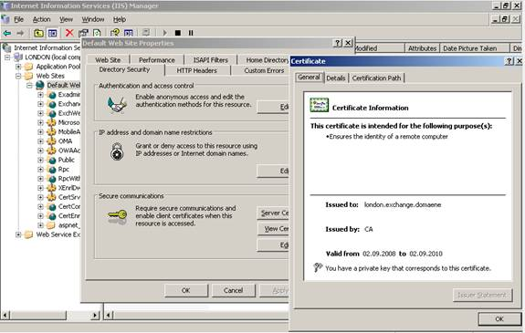 Exchange 2007 mobileactivesync