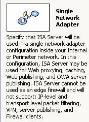Isa server dmz scenarios