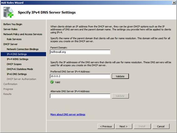 Microsoft dhcp ipv6