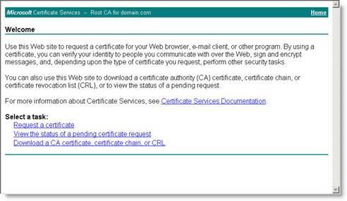 Сертификат терминальный сервер