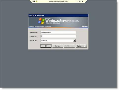 Сертификаты для терминального сервера