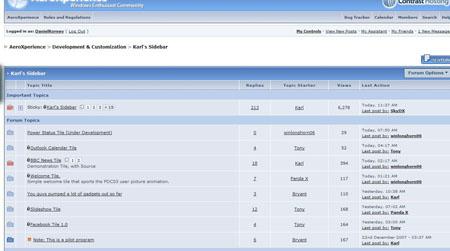 Sidebar HTML