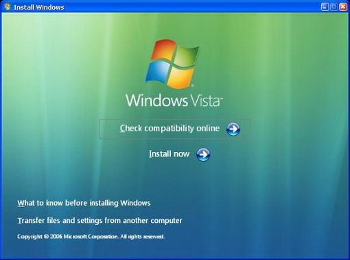 Как установить Windows vista лицензия?