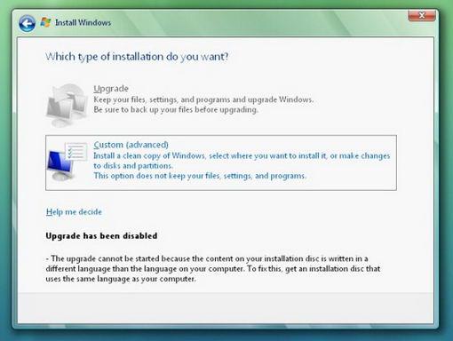 Лицензионная Windows vista заменить