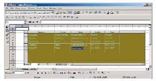 Примеры баз данных в openoffice